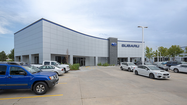 Shortline Subaru – 500 (North Building)